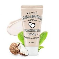 Питательная ночная маска для лица A'PIEU Fresh Mate Shea Butter Mask (Nutrition) 50мл