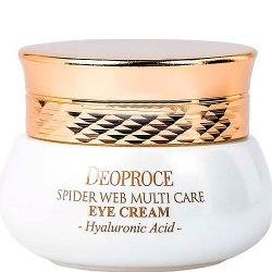 Крем с протеинами паутины для кожи вокруг глаз DEOPROCE Spider Web Multi-Care Eye Cream 30 мл