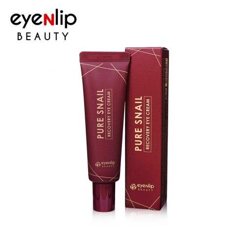 Крем для кожи вокруг глаз восстанавливающий с муцином улитки EYENLIP PURE SNAIL RECOVERY EYE CREAM 30ml