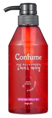 Гель для укладки волос супер-сильной фиксации WELCOS Confume Super Hard Hair Gel, 400 мл