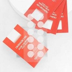 Патчи успокаивающие локального применения для проблемной кожи FARM STAY Derma Cube Acne Calming Spot Patch (1лист*12шт)