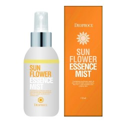 Цветочный спрей - сыворотка на морской воде DEOPROCE sun flower essence mist 110мл