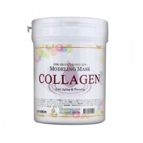 Маска альгинатная с коллагеном укрепляющая ANSKIN Collagen Modeling Mask