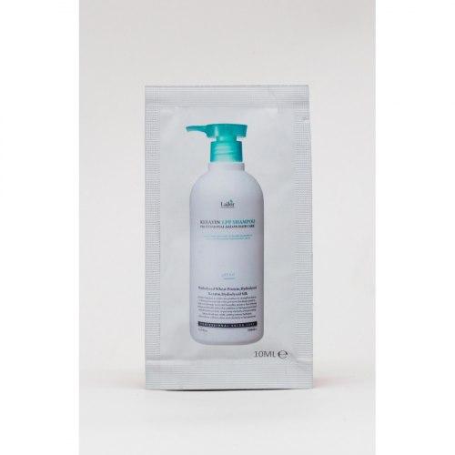 Бессульфатный кератиновый шампунь LA'DOR Keratin LPP Shampoo 150мл/530мл/10мл