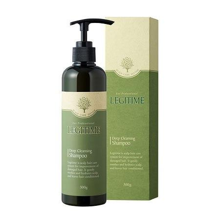 Профессиональный лечебный шампунь от перхоти с антибактериальным комплексом WELCOS Legitime Deep Cleansing Shampoo 300мл