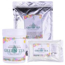 Маска альгинатная с зеленым чаем ANSKIN Grean Tea Modeling Mask