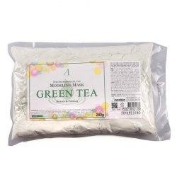 Маска альгинатная с зеленым чаем ANSKIN Grean Tea Modeling