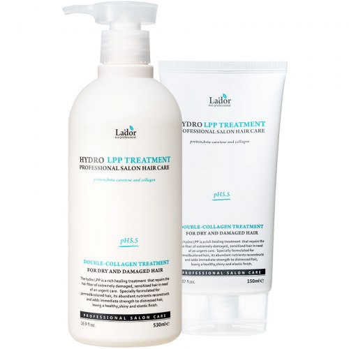Восстанавливающая маска для поврежденных волос LA'DOR Eco Hydro LPP Treatment 150мл/530мл
