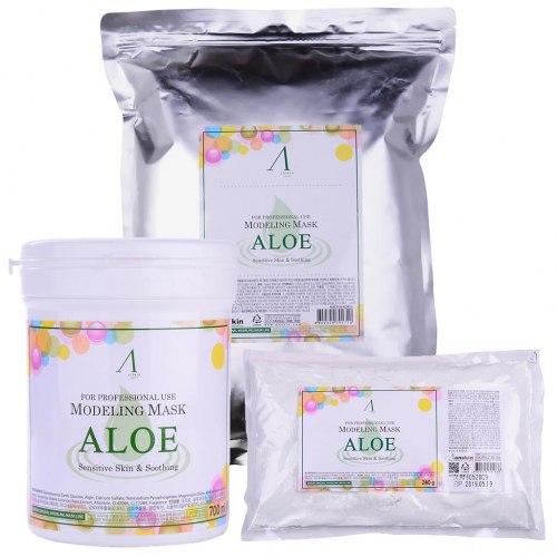 Маска альгинатная с экстрактом алоэ ANSKIN Aloe Modeling Mask