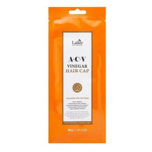 Маска-шапка для волос с яблочным уксусом LA'DOR Lador ACV Vinegar Hair Cap 30 гр