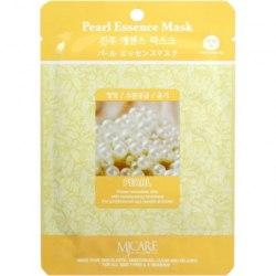 Тканевая маска с экстрактом жемчуга для сияния кожи MIJIN MJ Care Pearl Essence Mask (1 шт х 23 гр)