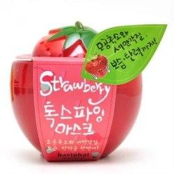 Маска для лица от расширенных пор клубничная BAVIPHAT Urban Dollkiss New Tree Strawberry All-In-One Pore Pack 100 мл