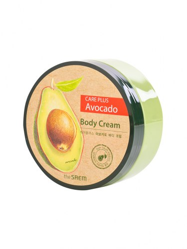 Крем для тела с экстратом авокадо THE SAEM Care Plus Avocado Body Cream 300 мл