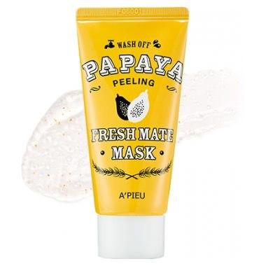 Маска для лица очищающая A'PIEU Fresh Mate Papaya Mask (Peeling) 50мл