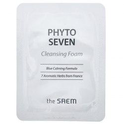 Пробники пенки для умывания с фито комплексом THE SAEM Phyto Seven Cleansing Foam 2,5мл