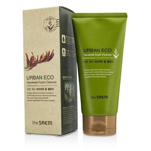 Пенка для умывания увлажняющая THE SAEM Urban Eco Harakeke Foam Cleanser 150мл