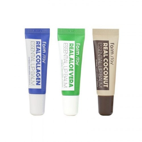 Бальзам для губ FARM STAY Real Essential Lip Balm, 10ml