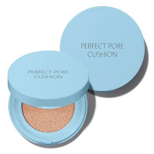 Тональный кушон-праймер для маскировки пор THE SAEM Perfect Pore Cushion, SPF50+/PA+++ 12г