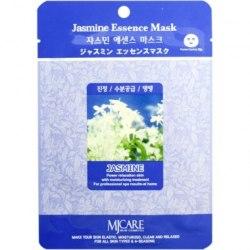 Тканевая маска с экстрактом жасмина успокаивающая увлажняющая заживляющая MIJIN Jasmine Essence Mask (1 шт х 23 гр)