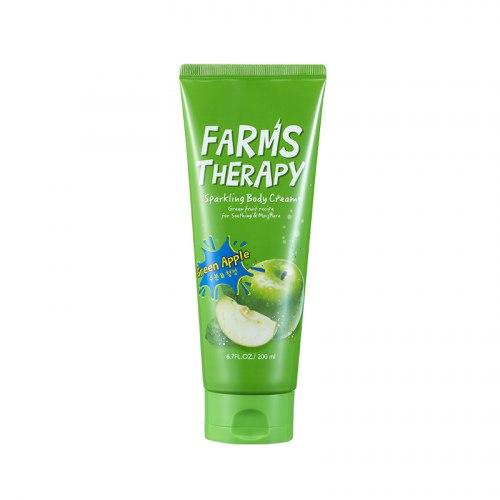 Крем для тела «ЗЕЛЕНОЕ ЯБЛОКО» Daeng Gi Meo Ri FARMS THERAPY Sparkling Body Cream [Green Apple] 200мл