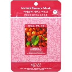 Тканевая маска с экстрактом ацеролы MIJIN Acerola Essence Mask (1 шт х 23 гр)