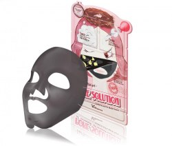 Трехшаговый набор для очищения и сужения пор ELIZAVECCA Pore Solution Super Elastic Mask Pack 25мл/2*2мл