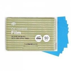 Матирующие салфетки пленки THE FACE SHOP DailyOil Control Film |50шт|