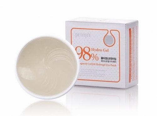 Гидрогелевые патчи для кожи вокруг глаз с коллагеном и коэнзимом Q10 PETITFEE Collagen & Q10 Hydro Gel Essence Eye&Spot Patch 60 шт