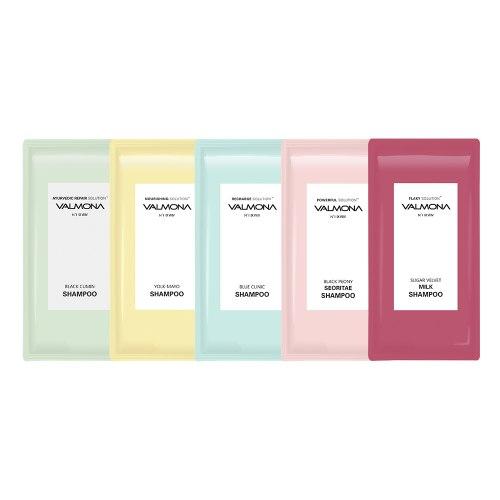 Пробники шампуней /Аюрведа/ Питание/ Увлажнение/ Пион/ Ягоды EVAS VALMONA 10мл*1 шт (5 видов )