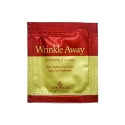 Крем с 6-летним красным женьшенем THE SKIN HOUSE Wrinkle Away Fermented Cream 2мл (пробник)