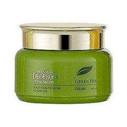Крем для лица с экстрактом зеленого чая DEOPROCE Крем для лица с экстрактом зеленого чая 100 мл