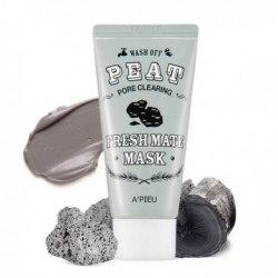 Маска для лица очищающая A'PIEU Fresh Mate Peat Mask (Pore Clearing) 50мл