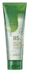 Гель с алоэ универсальный увлажняющий (в тубе) THE SAEM Jeju Fresh Aloe Soothing Gel 95% 250 мл/120мл