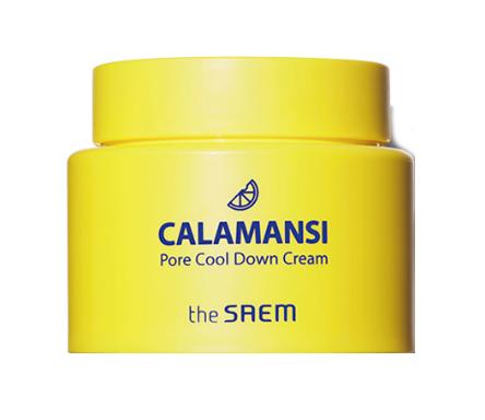 Крем для лица поросужающий охлаждающий THE SAEM CALAMANSI PORE COOL DOWN CREAM 100 МЛ