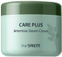 Успокаивающий крем для лица THE SAEM Care Plus Artemisia Steam Cream 100ml
