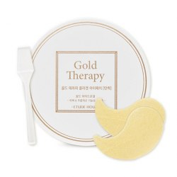 Гидрогелевые патчи для глаз ETUDE HOUSE Gold Therapy Collagen Eye Patch Firming