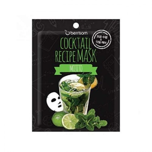 Тканевая маска-коктейль для лица BERRISOM Cocktail Recipe Mask 20 гр