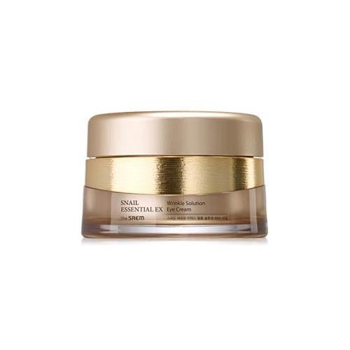 Крем для глаз антивозрастной с экстрактом муцина улитки THE SAEM Snail Essential EX Wrinkle Solution Eye Cream 30 мл