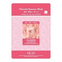 Маска тканевая с плацентой для увядающей кожи MIJIN Placenta Essence Mask (1 шт х 23 гр)