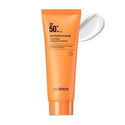Крем солнцезащитный для лица и тела THE SAEM Eco Earth Power Face & Body Waterproof Sun Block SPF50+ 100мл