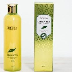 Тонер для лица с экстратом зеленого чая DEOPROCE Premium Green Tea Total Solution toner 260мл