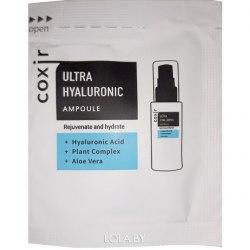 Ампульная сыворотка увлажняющая с гиалуроновой кислотой COXIR Ultra Hyaluronic Ampoule (пробники 2мл)