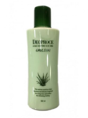 Эмульсия для лица с экстрактом алоэ DEOPROCE HYDRO SOOTHING ALOE VERA EMULSION 380ML
