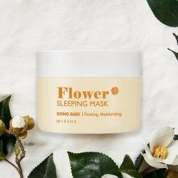 Ночная маска для лица MISSHA Flower Sleeping Mask (Camellia) 105 мл