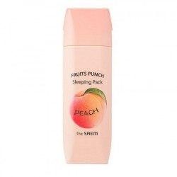 Маска ночная персиковый пунш THE SAEM fruits Punch Peach Sleeping Pack|100мл|