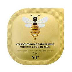 Капсульная маска с мёдом и золотом VT Cosmetics Progloss Capsule Mask 7,5 г