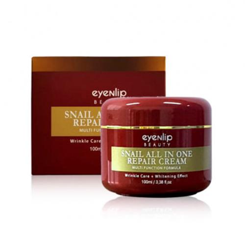 Крем с экстрактом муцина улитки EYENLIP Snail All In One Repair Cream