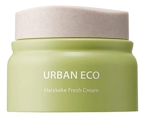 Освежающий крем для лица с экстрактом новозеландского льна THE SAEM Urban Eco Harakeke Fresh Cream 50мл