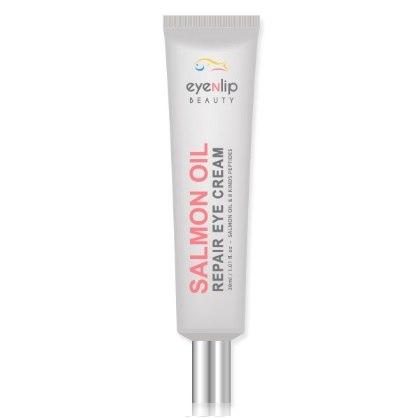 Крем для глаз восстанавливающий с лососевым маслом EYENLIP Salmon Oil Repair Eye Cream 30 мл