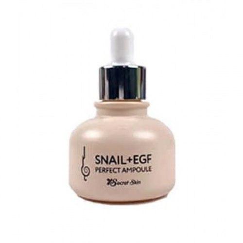 Сыворотка для лица с экстрактом улитки антивозрастная SECRET SKIN Snail+EGF Perfect Ampoule 30 мл